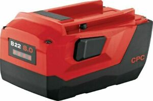 Hilti B22 8 0 Ah Lithium Ion Battery for Cordless Tool Brand New