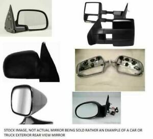 Passenger Side View Mirror Power RWD Heated Fits 80-92 FLEETWOOD 492655 $75.00