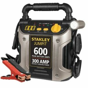 Auto Battery Charger Jump Start Engine Starter Clamps Booster Jumper Cables Led