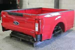 Oem Factory 17 19 Super Duty 8 Long Bed New Take Off Race Red Pq Truck Box