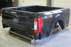 Oem Factory 17 19 Super Duty Short Bed New Take Off Agate Black Truck Box 6 9ft