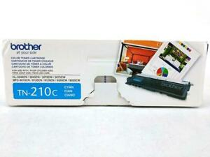 Genuine Brother Printer Toner Cartridge Tn210c Cyan Instructions Sealed Pouch