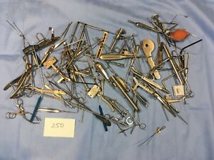 Lot Of Mixed Surgical Medical Tools Instruments 250