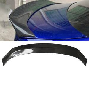 Black Carbon Fiber Trunk Spoiler Wing Fit For 2014 2019 Lexus Is200t Is250 Is350