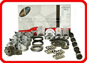 Master Rebuild Overhaul Kit Chevy Sbc 350 5 7l W Stage 4 Hp Cam 10 1 Pistons