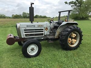 White 2 45 Diesel Farm Tractor Low Hours