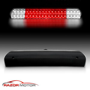 02 08 Smoke Led 3rd Brake Stop Lights For Dodge Ram 1500 2003 09 Ram 2500 3500