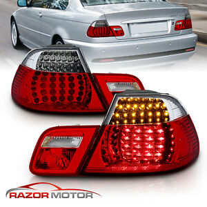 full Led 2000 2001 2002 2003 For Bmw E46 325ci 330ci m3 Coupe Red Tail Lights