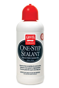Griot s Garage One Step Polish Sealant Synthetic Paint Protectant 16oz 11075