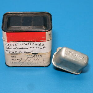 Nos Gm Delco Power Window And Or Power Seat Relay 1959 1960 Olds 88 Super 88 98