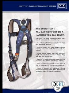 Brand New Dbi sala Exofit Xp Full Body Safety Harness Medium Mod 098 1110226