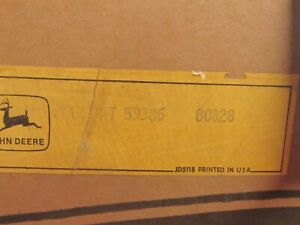 John Deere At59386 Push Pull Cable For 770a Grader