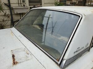 1962 Ford Fairlane Two Door Rear Glass Molding And More