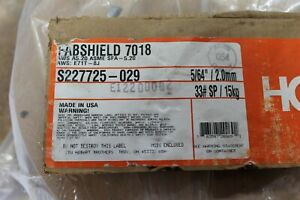 Hobart 5 64 Fabshield 7018 Low Hydrogen On 33 Spl