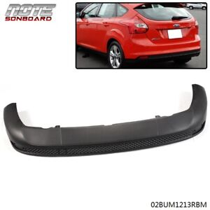 For Ford Focus 12 13 14 Sedan hatchback Rear Bumper Lower Cover Valance Striae