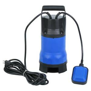 1 5hp 1100w Clean Dirty Submersible Water Pump Swimming Pool Pond Flood Drain