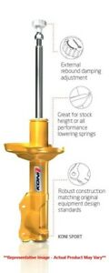 Koni Sport Front Shock Absorber For 01 06 Rsx Civic 8610 1415sport