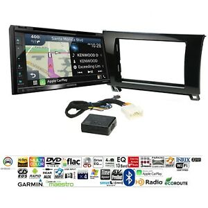 Kenwood Dnx697s Car Stereo Radio Dash Install Mount Kit With Gps Navigation
