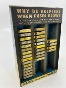 Vintage Early 50 S Buss Fuse Dealer Display Plymouth Dodge Chevy Mercury