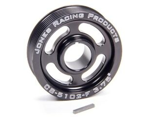 Jones Racing Products 3 3 4 In Od Serpentine Crank Pulley P N Cs 5102 F