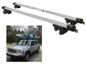 Adjustable Car Top Roof Rack Cross Bars For Vehicles Universal Luggage Holder