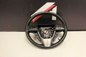 2010 2013 Mazdaspeed3 Ms3 Turbo 2 3l Oem Black Leather Steering Wheel