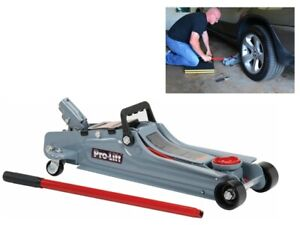 Low Profile Floor Jack Stand For Lift Car Oil Tires Change Hydraulic Automotive