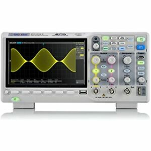 Sds1202x e 200 Mhz Digital Oscilloscope Channels Grey Industrial Free Ship