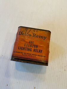Nos 1928 1948 Gm 6 Volt Headlight Relay Switch Delco Remy 1116789 Sealed