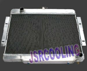 3 Row Aluminum Radiator Fit For 1972 1986 Jeep Cj Series W Chevy Engine New