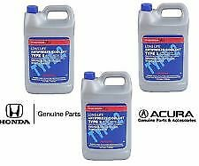 3 Gallon Genuine Honda Long Life Blue Antifreeze Coolant Type 2