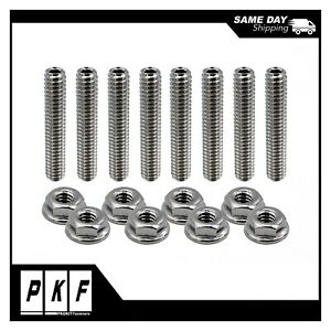 Sbc Valve Cover Stainless Steel Studs For 283 327 350 400 Small Block Chevy