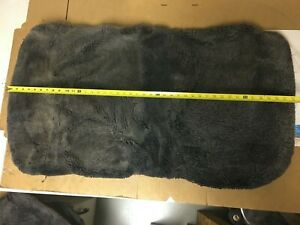 Sheepskin Seat Cover Blackcolor For Foreign Cars