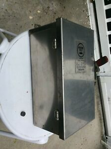 Westinghouse Electrical Disconnect All Stainless Steel Box New