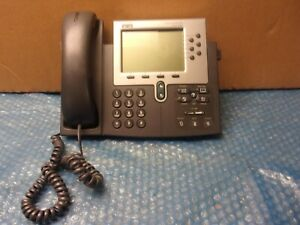 Cisco Ip Phone 7960 Series Business Office Desk Telephone