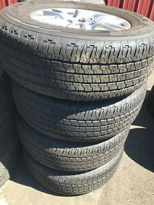 04 20 F 150 Expedition Set 275 65r18 M S Goodyear Wrangler Fortitude Ht