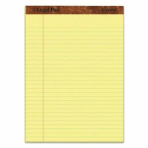 Note Pad The Legal Pad Ruled Perforated Pads 12 Pack 50 Sheets