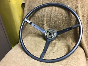 Used Oem Ford 1965 1966 Mustang Coupe Convertible Fastback Blue Steering Wheel