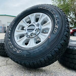 18 Ford F250 F350 Factory Original Wheels Rims Goodyear Tires Tpms Lugs 2019