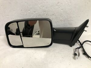 Oem 2019 2020 Dodge Ram Left Lh Side Unpainted Power Side View Tow Mirror