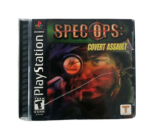 PlayStation Spec OPS: Cover Assault Manual Included $8.99