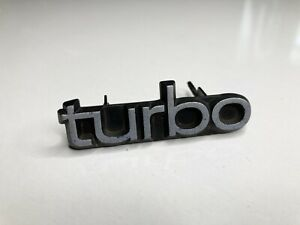 Oem 86 98 Saab 9000 Turbo Front Grille Grill Emblem Turbo Same Day Shipping