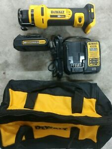 Dewalt 20v Max Drywall Cutout Tool Kit W Battery Charger Model Dcs551