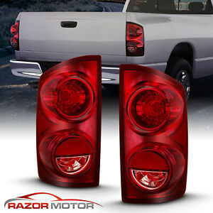 2007 2008 2009 Dodge Ram 1500 2500 3500 Truck Factory Oe Brake Tail Lights Pair