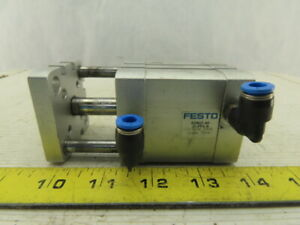 Festo Adngf 40 25 pps a Compact Pneumatic Guide Cylinder 40mm Bore 25mm Stroke