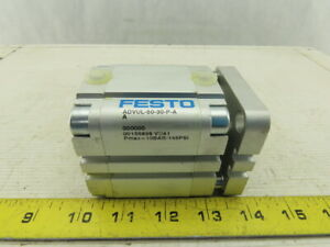 Festo 156898 Advul 50 30 p a Pneumatic Compact Air Cylinder 50 Bore 30 Stroke
