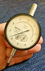 Mitutoyo Dial Indicator 2358 50 0001 Machinist Inspection Tool Maker Box Find