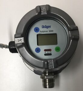 Drager Polytron 5000 5200 Detection Of Combustible Gases And Vapors p n 4544120