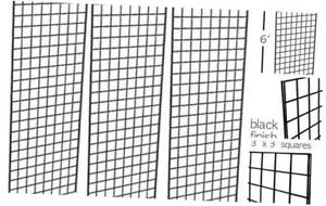 Only Garment Racks Commercial Grade Gridwall Panels Heavy Duty Grid Panel Fo