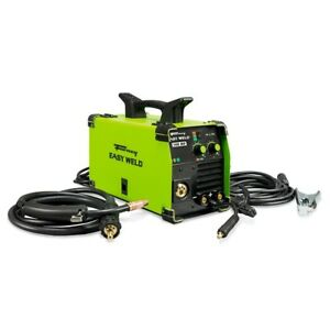 Electric Welder Solid Wire Uses Gasless Multi process 120v 140 Amp Mig tig stick